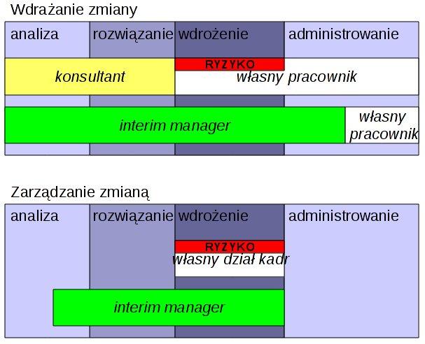 Różnica pomiędzy konsultantem a interim managerem